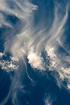 Cirrus clouds, cirrus fibratus fair weather, with cirrus uncinus,