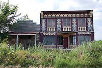 Abandoned Storefront Buildings in  Kansas