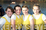 Alison Shaw, Caoimhe Doyle, Aoife Cooper and Catherine Cremin Muckross Rowing club who competed in the Killorglin Head of the River on Saturday
