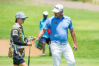 Lee Westwood (ENG) during the 3rd round at the Nedbank Golf Challenge hosted by Gary Player,  Gary Player country Club, Sun City, Rustenburg, South Africa. 16/11/2019 <br /> Picture: Golffile | Tyrone Winfield<br /> <br /> <br /> All photo usage must carry mandatory copyright credit (© Golffile | Tyrone Winfield)