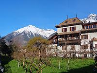 Blick auf Texelgruppe von Algund-Lagundo, Provinz Bozen &ndash; S&uuml;dtirol, Italien<br /> View of Texel group, Algund-Lagundo, province Bozen-South Tyrol, Italy