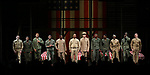 """Blair Underwood, David Alan Grier and Jerry O'Connell with cast During the Broadway Opening Night Curtain Call Bows for The Roundabout Theatre Company's """"A Soldier's Play""""  at the American Airlines Theatre on January 21, 2020 in New York City."""