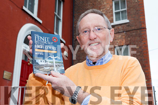 Billy Ryle has launched a new book 'From Fenit Bathing Slip to the High Court'