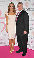 Elizabeth Hurley and William P. Lauder at the Future Dreams's &quot;United for Her&quot; fundraising charity lunch, Savoy Hotel, The Strand, London, England, UK, on Monday 09 October 2017.<br /> CAP/CAN<br /> &copy;CAN/Capital Pictures