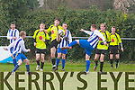 Action from Denny Premier 'B' Spa Road  V  Killarney Celtic B at Mounthawk Park on Sunday