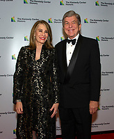 United States Senator Roy Blunt (Republican of Missouri) and his wife, Abigail, arrives for the formal Artist's Dinner honoring the recipients of the 41st Annual Kennedy Center Honors hosted by United States Deputy Secretary of State John J. Sullivan at the US Department of State in Washington, D.C. on Saturday, December 1, 2018.   <br /> CAP/MPI/RS<br /> &copy;RS/MPI/Capital Pictures