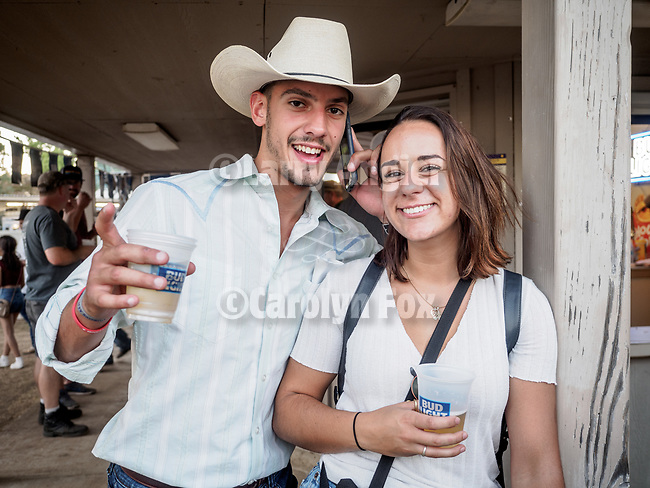 Luka Vukovich from Subotica, Serbia, <br /> <br /> Saturday, Day 3 of the 79th Amador County Fair, Plymouth, Calif.<br /> <br /> Local cowboy ranch rodeo, livestock beauty pageant, youth tractor rodeo, Mutton Bustin' finals<br /> <br /> <br /> #AmadorCountyFair, #PlymouthCalifornia,<br /> #TourAmador, #VisitAmador