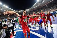 Esultanza PSG  <br /> MOTTA Thiago (PSG) <br /> Parigi 27-05-2017 Stade de France <br /> Angers - Paris Saint Germain PSG Finale Coppa di Francia 2016/2017  <br /> Foto JB Autissier/ Panoramic/insidefoto