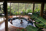 MONTEVERDE, COSTA RICA- JANUARY 6, 2009: The jacuzzi at the Hotel Belmar on January 6, 2009 in Monteverde, Costa Rica.    (Photo by Michael Nagle)