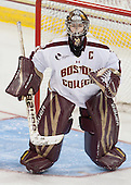 Corinne Boyles (BC - 29) - The Boston College Eagles defeated the visiting University of Vermont Catamounts 2-0 on Saturday, January 18, 2014, at Kelley Rink in Conte Forum in Chestnut Hill, Massachusetts.
