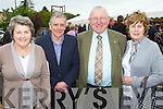 Ina Geary, John Barry, Tim Twomey and Anette Ronan pictured at the Centenary of Kilflynn school on Sunday.