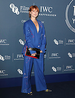 Jessie Buckley at the IWC Schaffhausen Gala Dinner in honour of the BFI at the Electric Light Station, Shoreditch, London on October 9th 2018<br /> CAP/ROS<br /> ©ROS/Capital Pictures