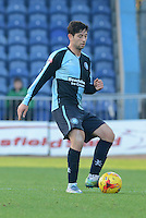 Wycombe Wanderers Joe Jacobson during the Sky Bet League 2 match between Mansfield Town and Wycombe Wanderers at the One Call Stadium, Mansfield, England on 31 October 2015. Photo by Garry Griffiths.