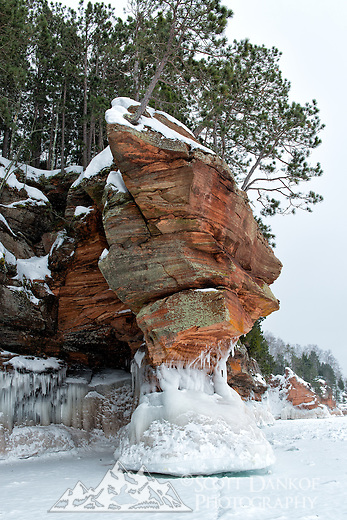 Apostle Islands Ice Caves.