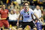 Berlin, Germany, February 09: During the FIH Indoor Hockey World Cup Pool A group match between Germany (white) and Trinidad and Tobago(red) on February 9, 2018 at Max-Schmeling-Halle in Berlin, Germany. Final score 10-2. (Photo by Dirk Markgraf / www.265-images.com) *** Local caption ***