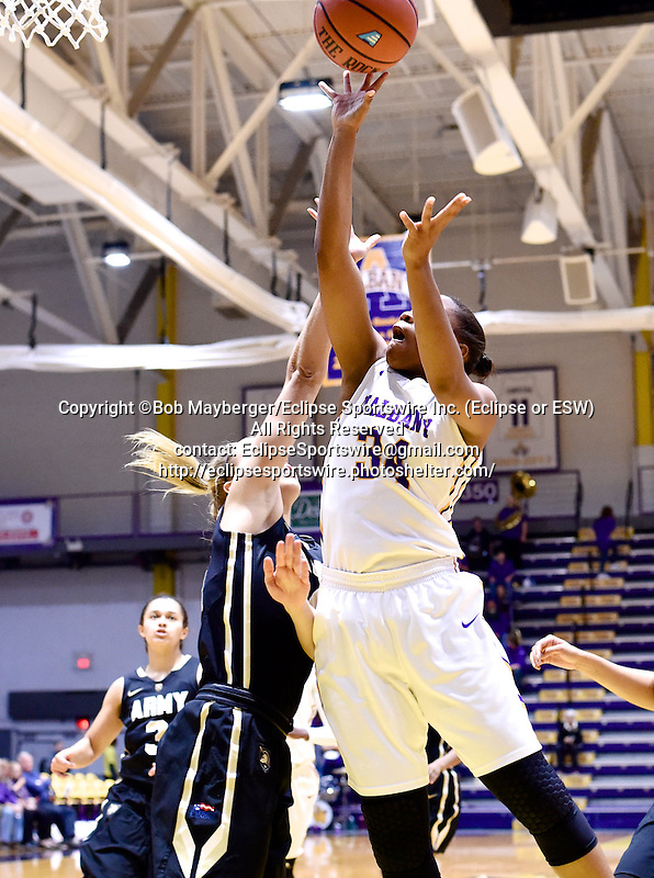 Albany defeats Army 65-59 on November 16, 2016 at SEFCU Arena in Albany, New York.  (Bob Mayberger/Eclipse Sportswire)