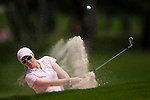 CHON BURI, THAILAND - FEBRUARY 18:  Morgan Pressel of USA plays a bunker shot on the 3rd hole during day two of the LPGA Thailand at Siam Country Club on February 18, 2011 in Chon Buri, Thailand.  Photo by Victor Fraile / The Power of Sport Images