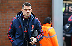Arsenal's Granit Xhaka arrives ahead of the Premier League match at Selhurst Park, London. Picture date: 11th January 2020. Picture credit should read: Paul Terry/Sportimage