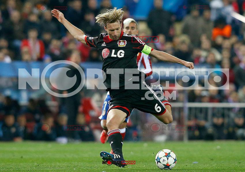 Bayer 04 Leverkusen's Koke during Champions League 2014/2015 match.March 16,2015. (ALTERPHOTOS/Acero) /NORTEphoto.com