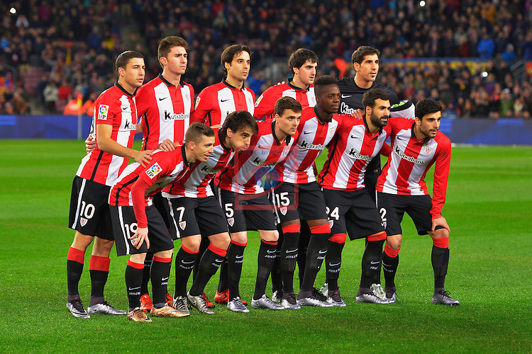 League BBVA 2015/2016 -Game: 20.<br /> FC Barcelona vs Athletic Club: 6-0.