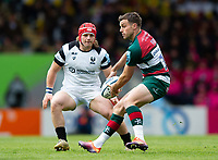 George Ford of Leicester Tigers in possession. Gallagher Premiership match, between Leicester Tigers and Bristol Bears on April 27, 2019 at Welford Road in Leicester, England. Photo by: Patrick Khachfe / JMP