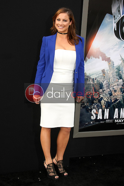 """Romy Poulier<br /> at the """"San Andreas"""" Los Angeles Premiere, TCL Chinese Theater, Hollywood, CA 05-26-15<br /> David Edwards/DailyCeleb.Com 818-249-4998"""
