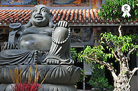 Buddha statue and pagoda (Licence this image exclusively with Getty: http://www.gettyimages.com/detail/83154210 )