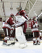 Paul Dainton (UMass - 31) - The Boston College Eagles defeated the University of Massachusetts-Amherst Minutemen 5-2 on Saturday, March 13, 2010, at Conte Forum in Chestnut Hill, Massachusetts, to sweep their Hockey East Quarterfinals matchup.