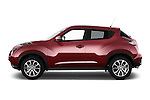 Car Driver side profile view of a 2017 Nissan JUKE SV 5 Door SUV Side View