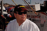 Nov 13, 2005; Phoenix, Ariz, USA;  Nascar Nextel Cup car owner Chip Ganassi during the Checker Auto Parts 500 at Phoenix International Raceway. Mandatory Credit: Photo By Mark J. Rebilas