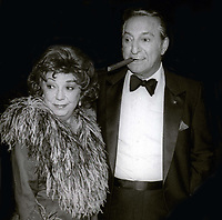 Danny Thomas and wife 1983<br /> Photo By John Barrett/PHOTOlink