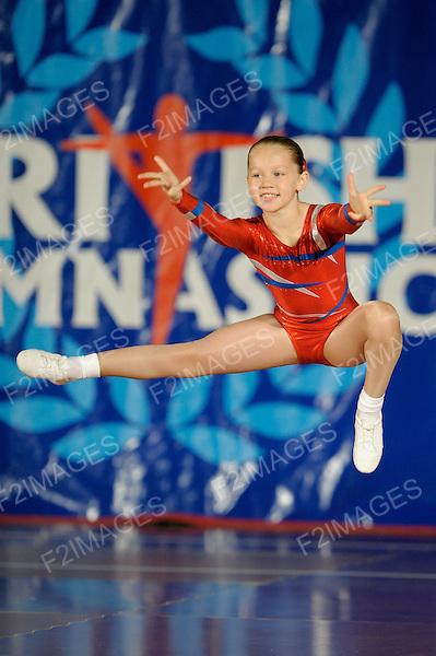 National Sports Aerobics Championships. Rivermeade Sports Centre. Reading.Jasmin Kirkpatrick