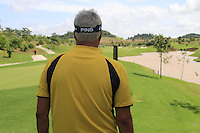 Daniel Chopra (SWE) waits to tee off on the 15th tee during Sundays Final Round 3 of the 54 hole Iskandar Johor Open 2011 at the Horizon Hills Golf Resort Johor, Malaysia, 19th November 2011 (Photo Eoin Clarke/www.golffile.ie)