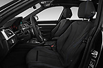Front seat view of 2018 BMW 3 Series 330i GT M Sport 5 Door Hatchback front seat car photos