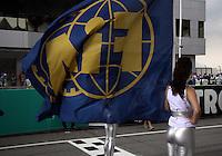 SEPANG, MALASIA, 25 DE MARCO 2012 - F1 - GP MALASIA - <br /> Modelos, durante o GP da Malásia, no circuito de Kuala Lumpur, em Sepang, neste domingo, 26. (FOTO: THOMAZ MELZER / PIXATHLON /  BRAZIL PHOTO PRESS).