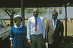Nyanza Provincial General Hospital Staff With Head Of Hospital