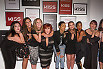 Singer and actress Teyana Taylor (center) blows kisses with event team at the press preview for KISS Products' first ever Pop Up Beauty Bar in New York City, and answers questions on September 28, 2017.