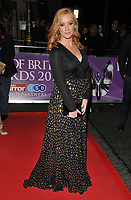 Sarah-Jane Mee at the Pride of Britain Awards 2017, Grosvenor House Hotel, Park Lane, London, England, UK, on Monday 30 October 2017.<br /> CAP/CAN<br /> &copy;CAN/Capital Pictures /MediaPunch ***NORTH AND SOUTH AMERICAS ONLY***