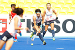 Mami Karino (JPN), <br /> AUGUST 21, 2018 - Hockey : <br /> Women's Group A match <br /> between Japan 6-0 Hong Kong <br /> at Gelora Bung Karno Hockey Field <br /> during the 2018 Jakarta Palembang Asian Games <br /> in Jakarta, Indonesia. <br /> (Photo by Naoki Morita/AFLO SPORT)