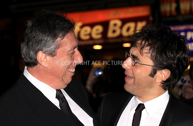 """WWW.ACEPIXS.COM . . . . .  ..... . . . . US SALES ONLY . . . . .....October 22 2009, London....Ivan Reitman (L) and Atom Egoyan at the premiere of """"Chloe"""" at the 53rd BFI London Film Festival - 22 October 2009 in London......Please byline: FAMOUS-ACE PICTURES... . . . .  ....Ace Pictures, Inc:  ..tel: (212) 243 8787 or (646) 769 0430..e-mail: info@acepixs.com..web: http://www.acepixs.com"""