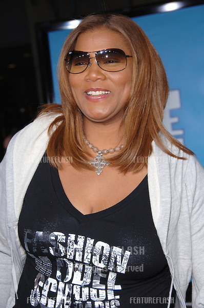 "Actress QUEEN LATIFAH at the world premiere of her new movie ""Ice Age: The Meltdown"" at the Grauman's Chinese Theatre, Hollywood..March 19, 2006  Los Angeles, CA..© 2006 Paul Smith / Featureflash"