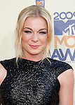 UNIVERSAL CITY, CA. - May 31: LeAnn Rimes arrives at the 2009 MTV Movie Awards at the Gibson Amphitheatre on May 31, 2009 in Universal City, California.