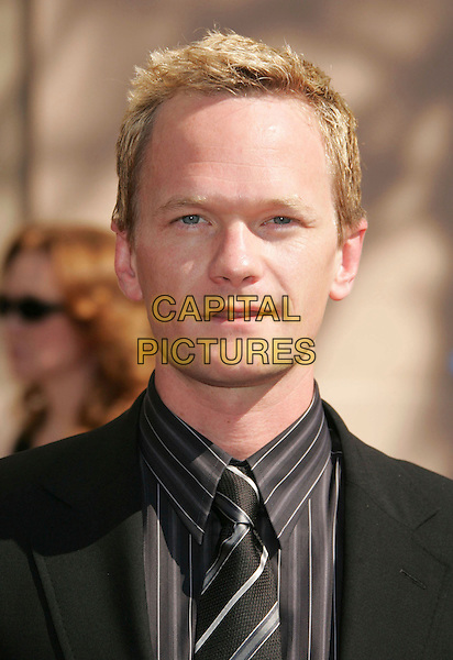 NEIL PATRICK HARRIS.2006 Primetime Creative Arts Emmy Awards held at the Shrine Auditorium, Los Angeles, California, USA..August 19th, 2006.Ref: ADM/RE.headshot portrait.www.capitalpictures.com.sales@capitalpictures.com.©Russ Elliot/AdMedia/Capital Pictures.