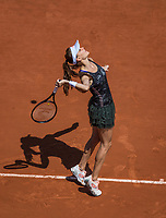 Paris, France, 1 June, 2017, Tennis, French Open, Roland Garros, Agnieszka Radwanska (POL)<br /> Photo: Henk Koster/tennisimages.com