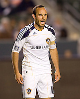 LA Galaxy forward & team Captain Landon Donovan (10) reacts to a call. The LA Galaxy and Toronto FC played to a 0-0 draw at Home Depot Center stadium in Carson, California on Saturday May 15, 2010.  .