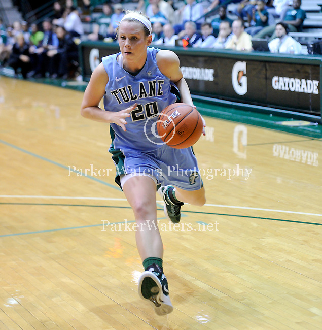 Tulane women's basketball defeats UL Monroe, 62-45, in Fogelman Arena.