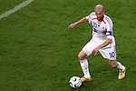 05 July 2006: Zinedine Zidane (FRA). France defeated Portugal 1-0 at the Allianz Arena in Munich, Germany in match 62, the second semifinal game, in the 2006 FIFA World Cup.