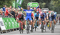 Picture by Simon Wilkinson/SWpix.com - 04/09/2018 - Cycling - OVO Energy Tour of Britain 2018 -  Stage 3 Bristol to Bristol - julian Alaphilippe wins in Bristol