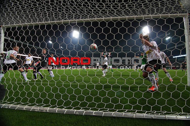 20.10.2012, Weser Stadion, Bremen, GER, 1.FBL, Werder Bremen vs Borussia Moenchengladbach, im Bild Tor zum 1:0<br /> Foto &copy; nph / Kokenge *** Local Caption ***