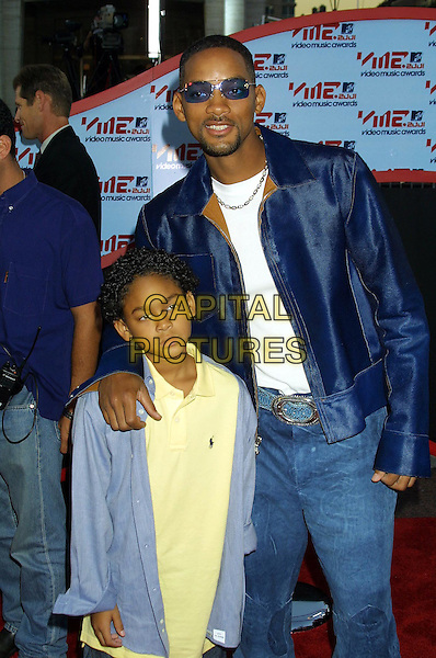 WILL SMITH & SON.MTV Video Music Awards 2001.www.capitalpictures.com.©Capital Pictures